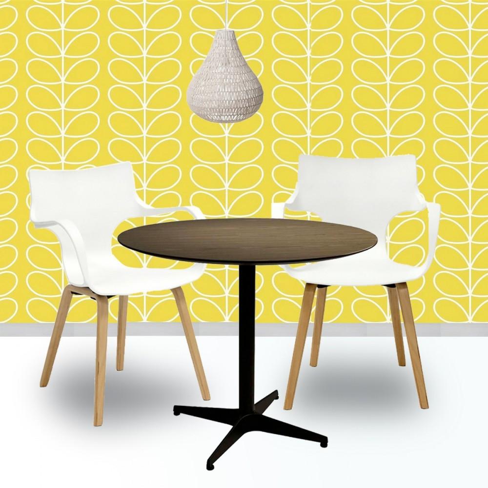 lot de 2 chaises design rockwood. Black Bedroom Furniture Sets. Home Design Ideas