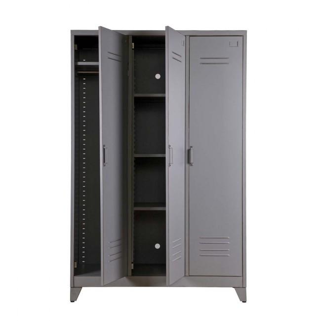 Armoire 3 portes métal Maxim