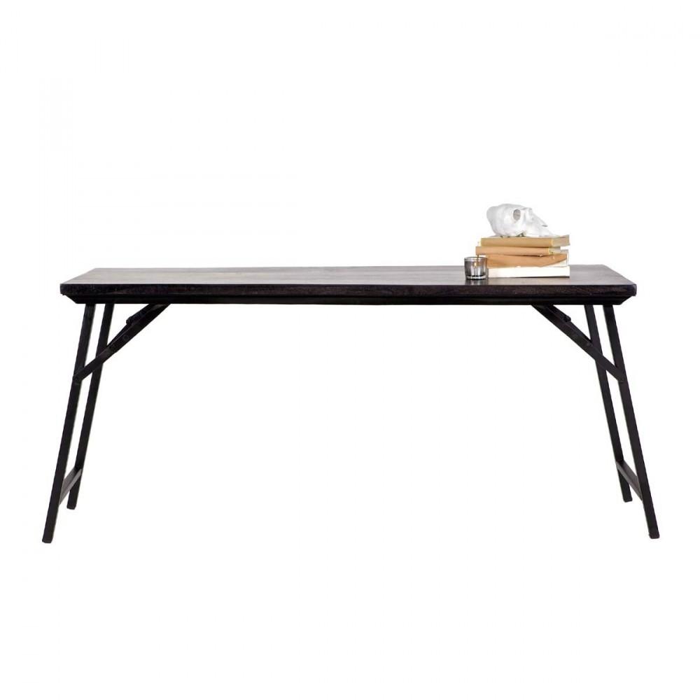 table repliable vintage 150cm rika par. Black Bedroom Furniture Sets. Home Design Ideas