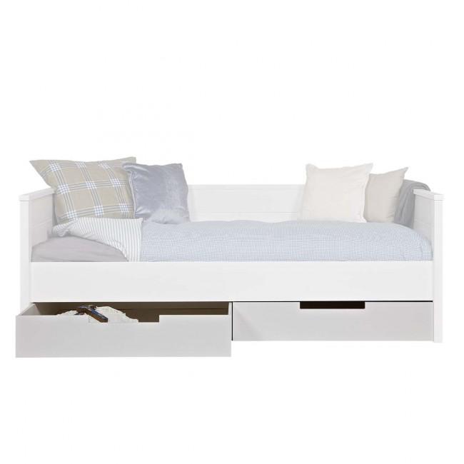 Set de 2 tiroirs en pin fsc pour lit Joop