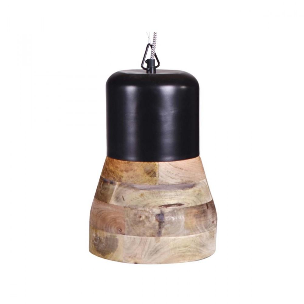 Suspension bois m tal salt and pepper big par - Luminaire suspension bois ...