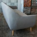 Canapé 3 places design scandinave Cirrus