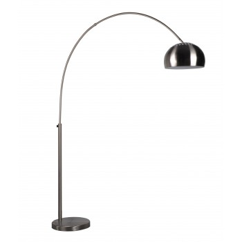 Lampadaire design chrome BOW