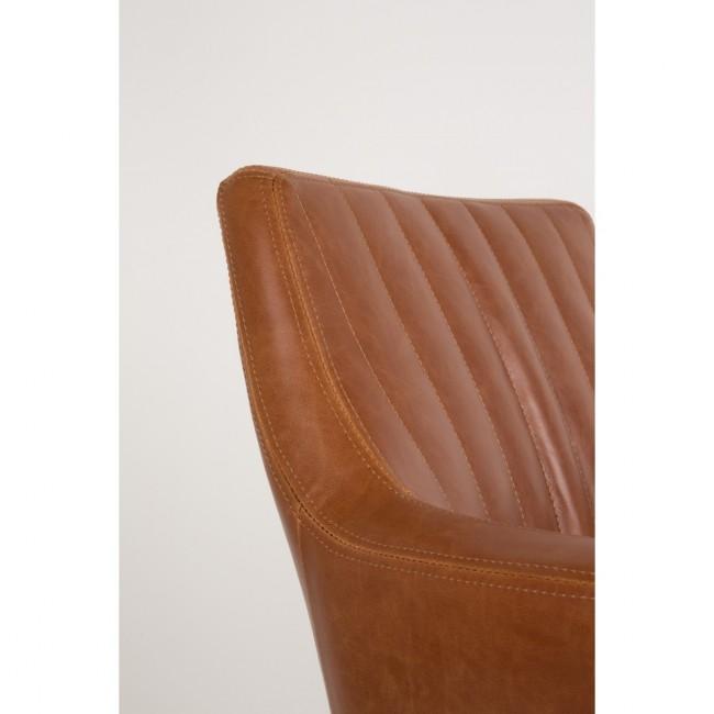 Chaise vintage capitonnée Pike