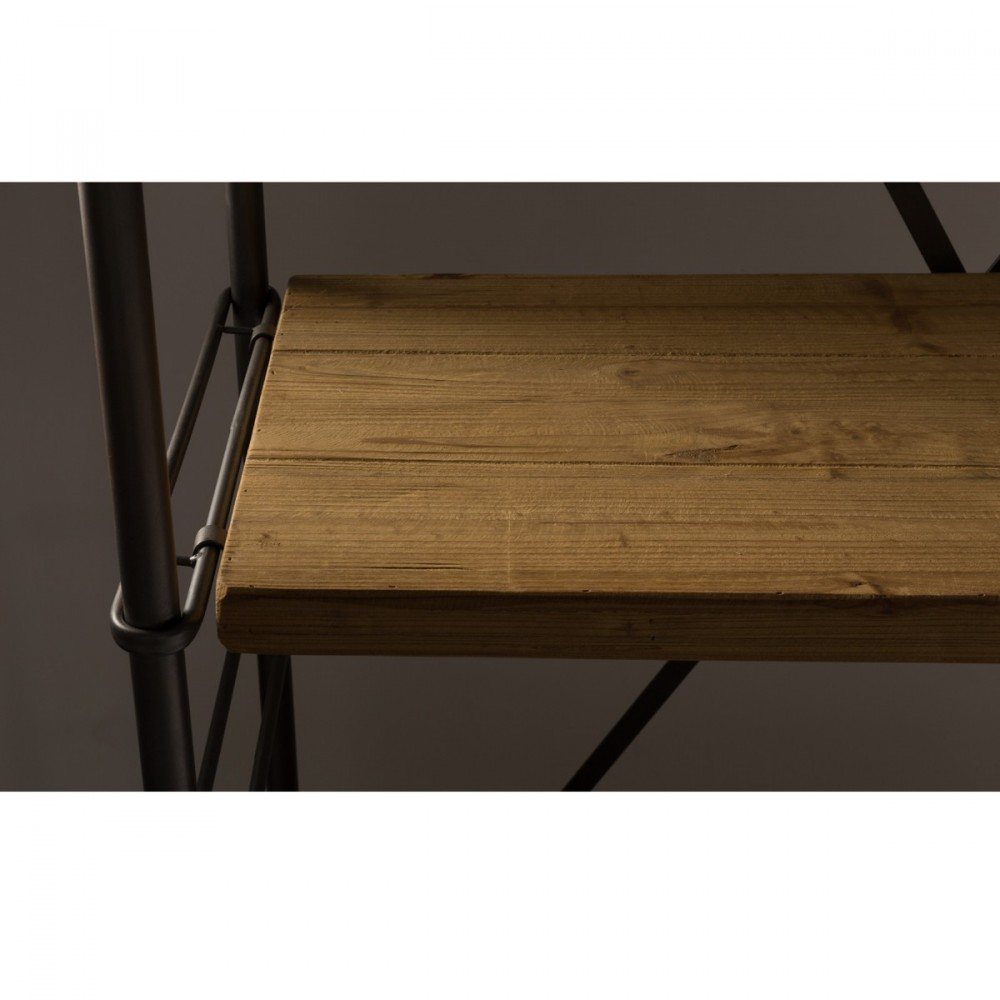 Etag re industrielle m tal et bois ironwood par - Etagere industrielle bois metal ...