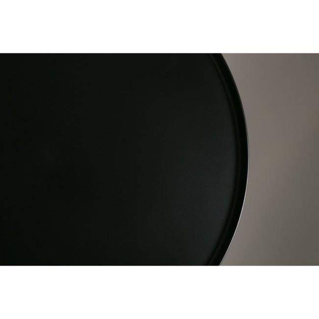 Table d appoint noir et laiton Elia