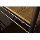 Etagère industrielle métal et bois Ironwood de Dutchbone