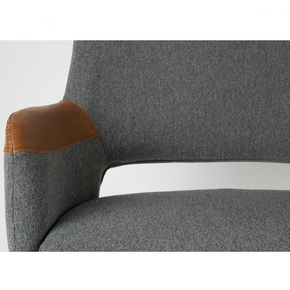 Fauteuil design pivotant syl zuiver for Eetkamerstoel fauteuil