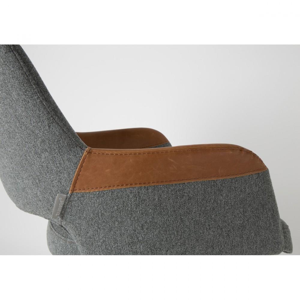 Fauteuil Design Pivotant Syl Zuiver - Fauteuil pivotant design pas cher