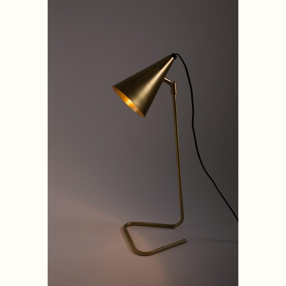 lampe poser en laiton brasser par. Black Bedroom Furniture Sets. Home Design Ideas