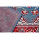 Tapis rouge et bleu Royal Icon