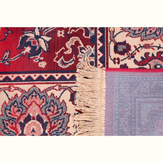 Tapis vintage rouge Old Bid
