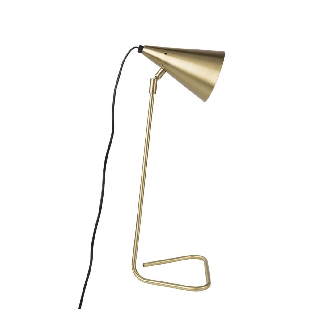 Lampe A Poser En Laiton Brasser Par Drawer Fr