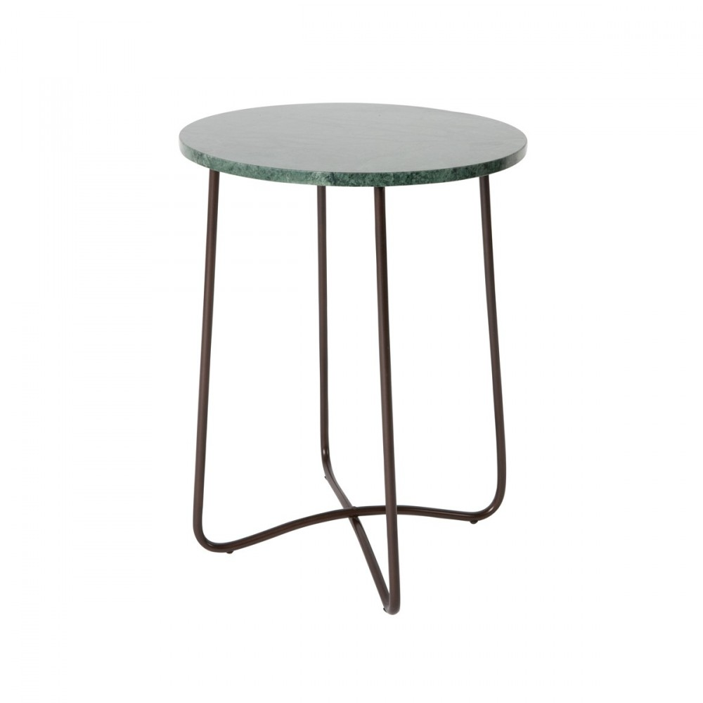 table d 39 appoint r tro en marbre emerald par. Black Bedroom Furniture Sets. Home Design Ideas