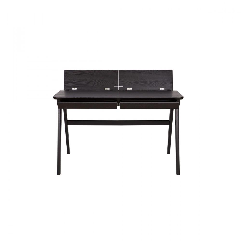 bureau informatique en bois cambridge par. Black Bedroom Furniture Sets. Home Design Ideas