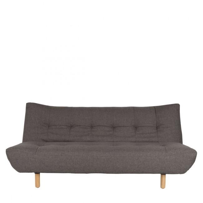 Canapé convertible tissu gris Nyaman