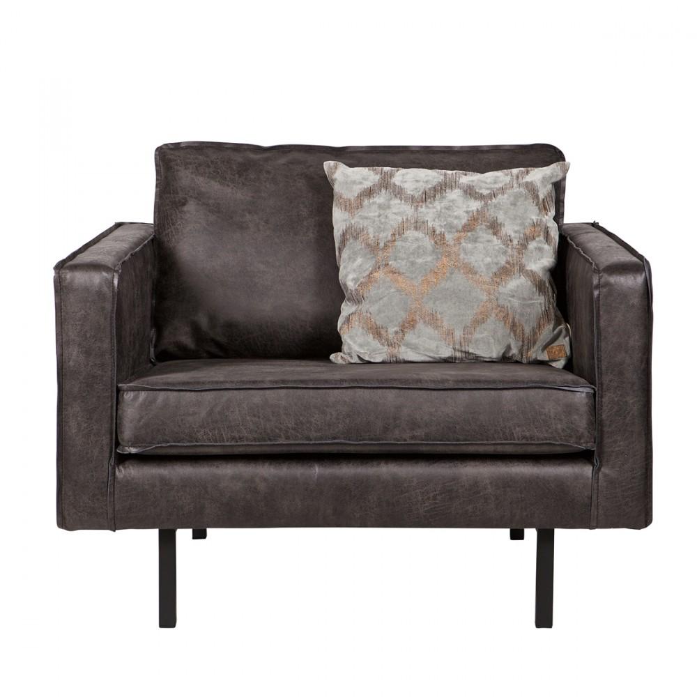 fauteuil vintage en co cuir bronco par. Black Bedroom Furniture Sets. Home Design Ideas