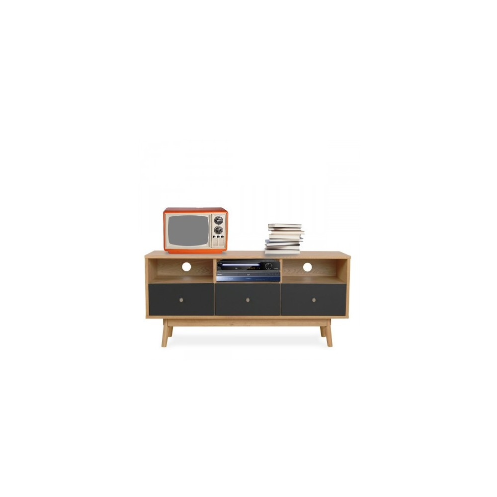 Meuble tv scandinave skoll by drawer for Meuble tv zuiver