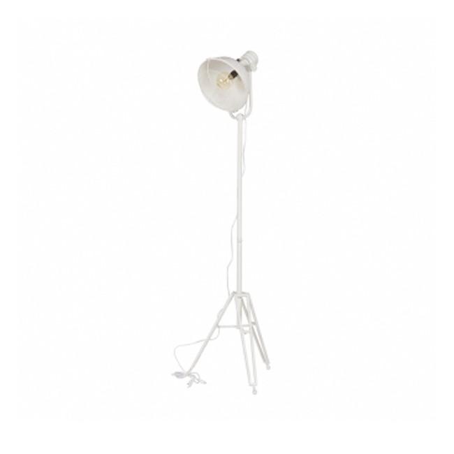 Lampadaire design studio indus blanc Brando