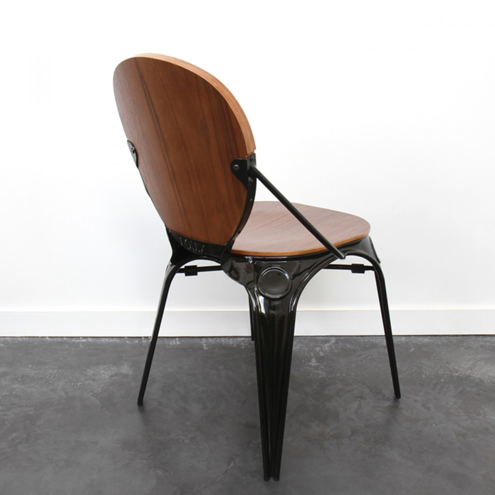 Chaise Bois Et Metal Industriel pzoiutkx drawerchaise en bois et industriel métal style