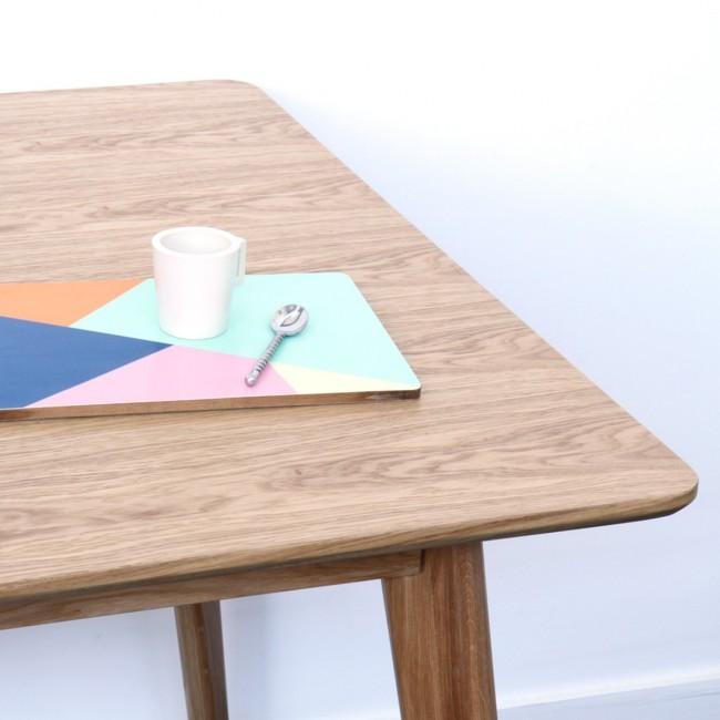 Table scandinave en bois 180x80cm Skoll