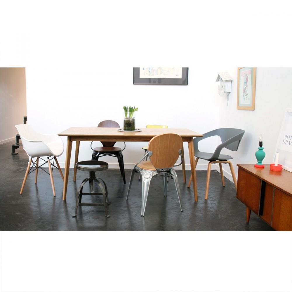 Tabouret vis industriel henri ford by drawer for Table de salle a manger design scandinave vispa