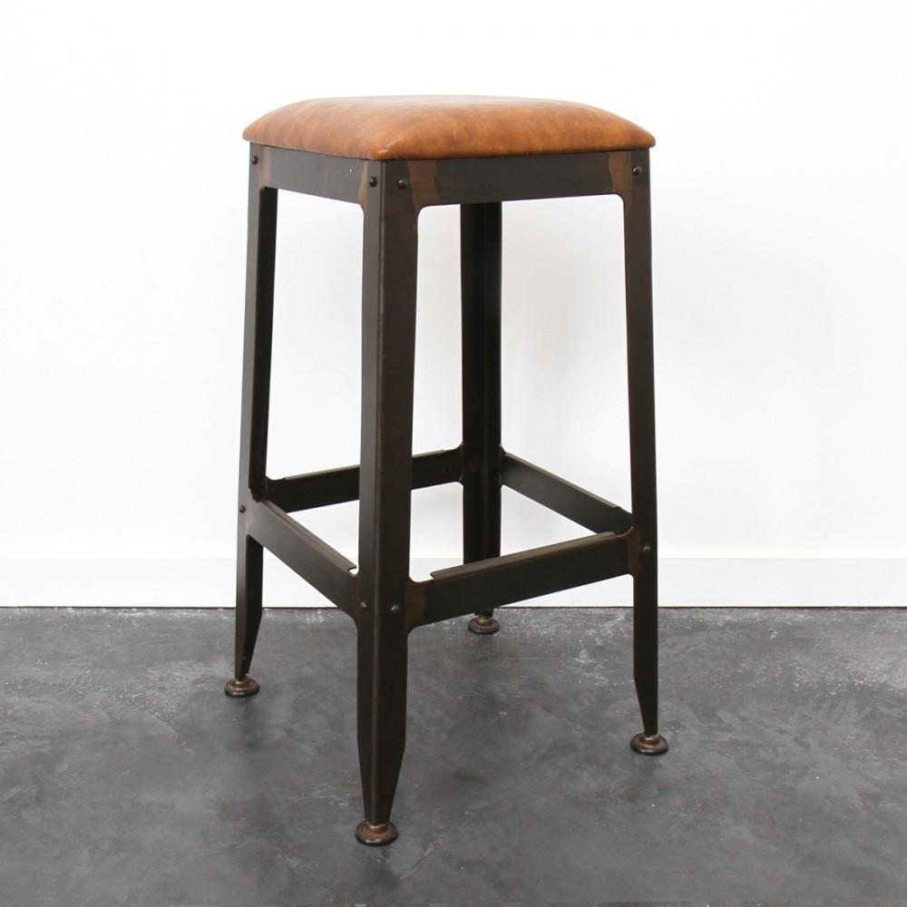tabouret de bar lounge rambler by drawer. Black Bedroom Furniture Sets. Home Design Ideas