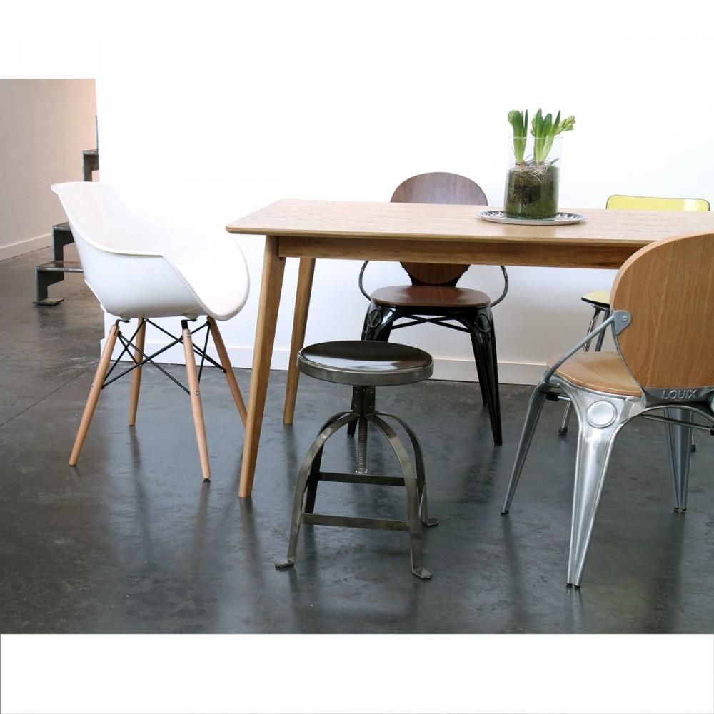Chaise Designer Banche SKOLL Pietement Bois By Drawer