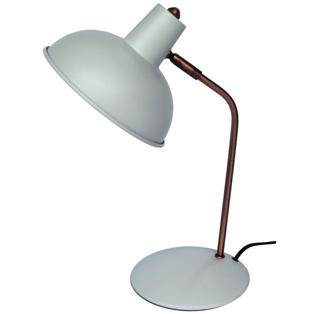 Lampe poser m tal vintage stanford par for Lampe a poser but