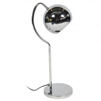 Lampe à poser rétro seventies chrome Tubby