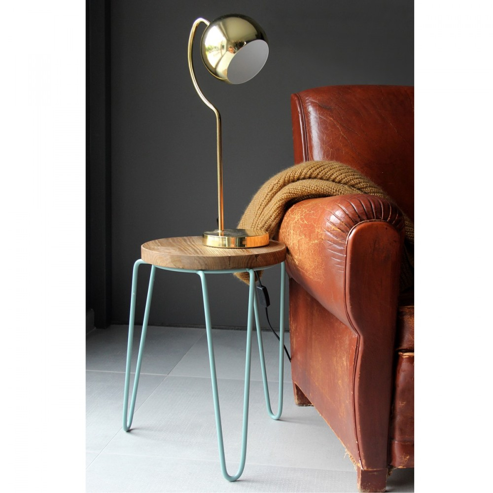 Lampe A Poser Retro Seventies Tubby Par Drawer Fr