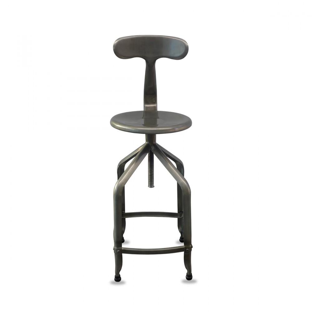 tabouret metal industriel maison design. Black Bedroom Furniture Sets. Home Design Ideas