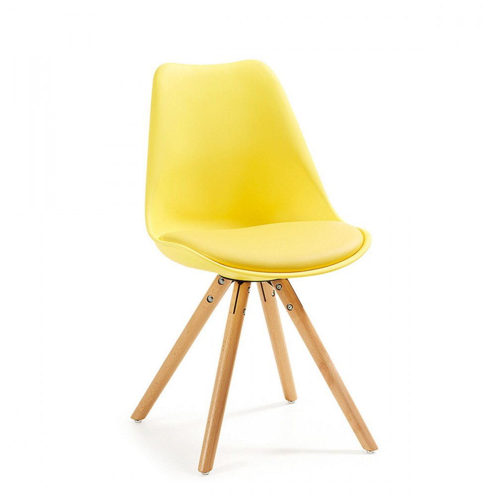 Chaises design ralf wood style eames par drawer