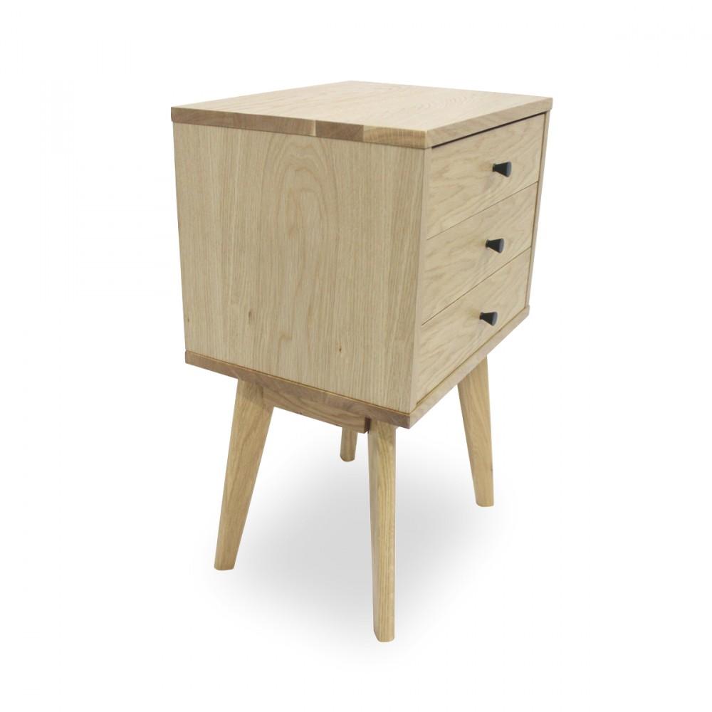 Meuble de rangement scandinave skoll 3 tiroirs by for Petit meuble de rangement 3 tiroirs