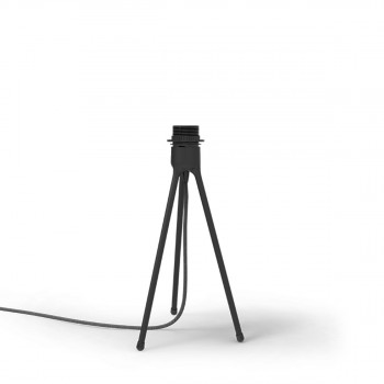 Pied de lampe Tripod Table black