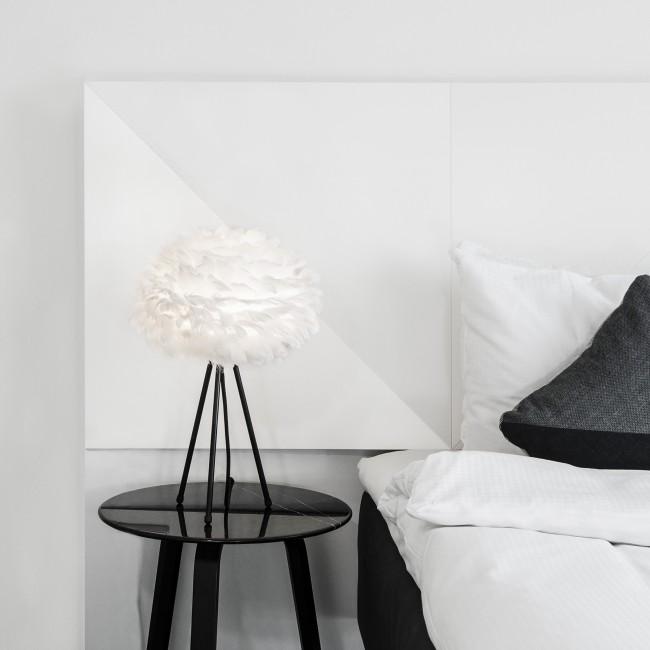 Lampe à poser Eos mini avec pied noir