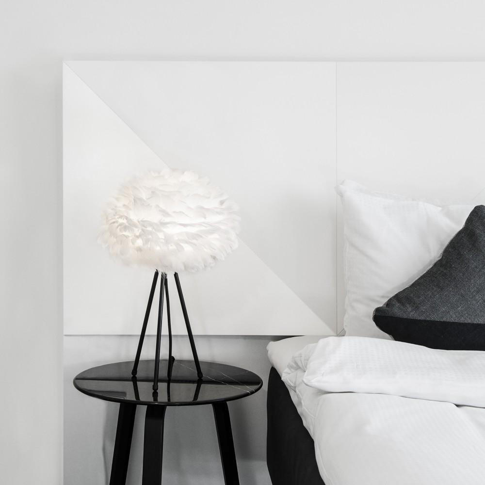 lampe poser eos mini pied noir par. Black Bedroom Furniture Sets. Home Design Ideas