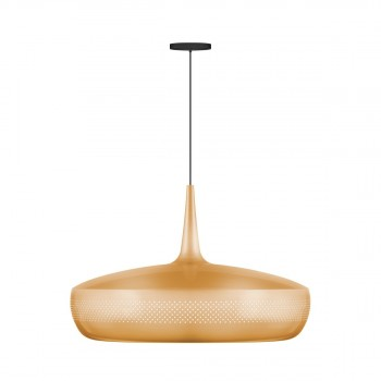 Suspension vintage Clava Dine laiton
