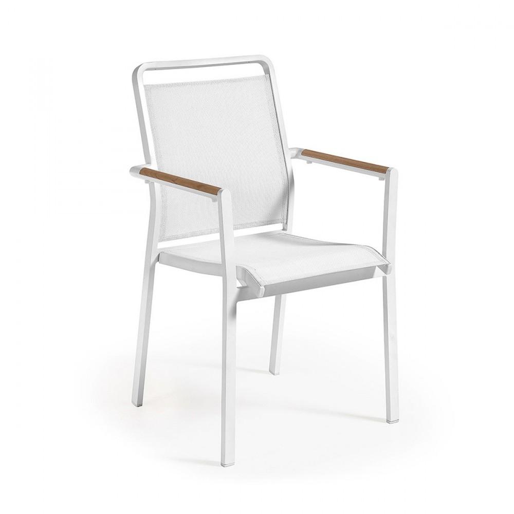 fauteuil de jardin design en aluminium malta by drawer. Black Bedroom Furniture Sets. Home Design Ideas