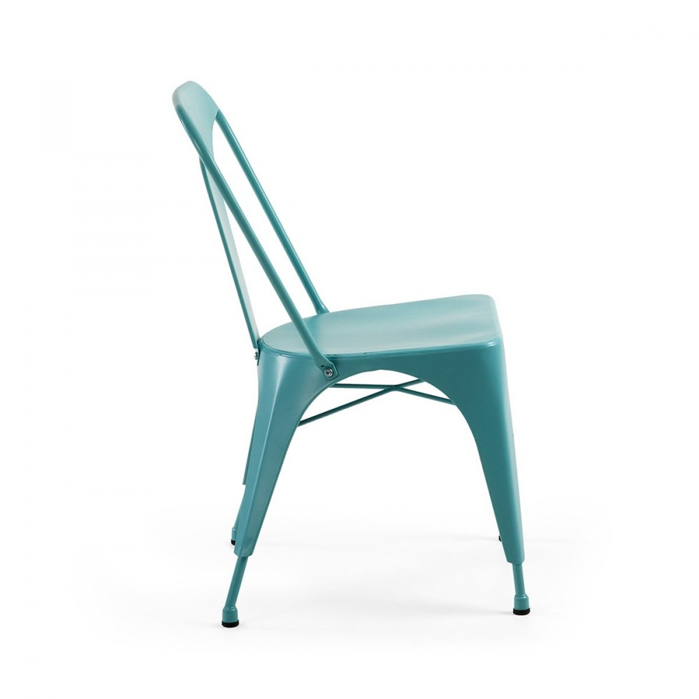 Chaise design m tal style industriel mali by - Chaises industrielles metal ...