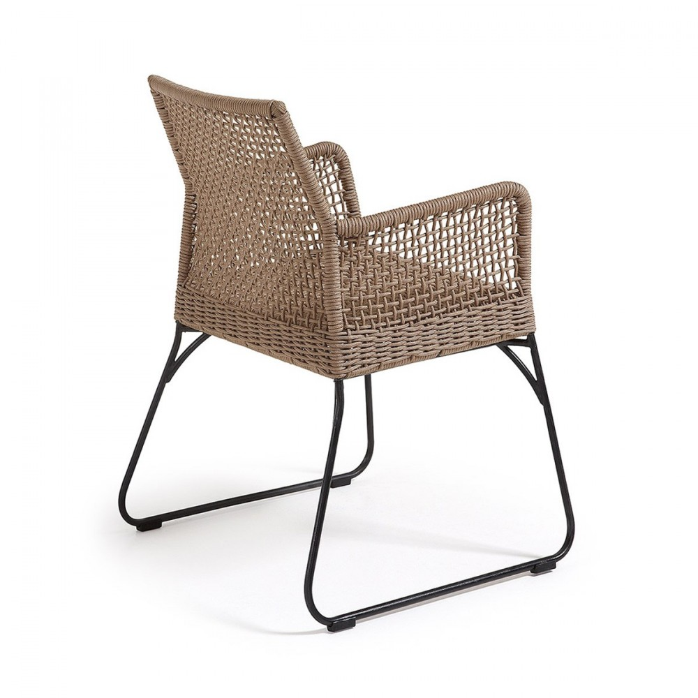 fauteuil de jardin vintage en m tal et polyester kavon by. Black Bedroom Furniture Sets. Home Design Ideas