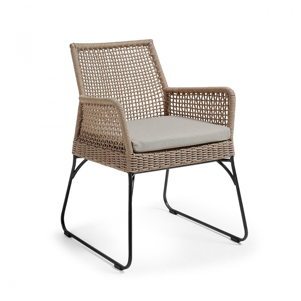 Coussin en tissu jardin pour fauteuil kavon by for Tissu pour coussin exterieur