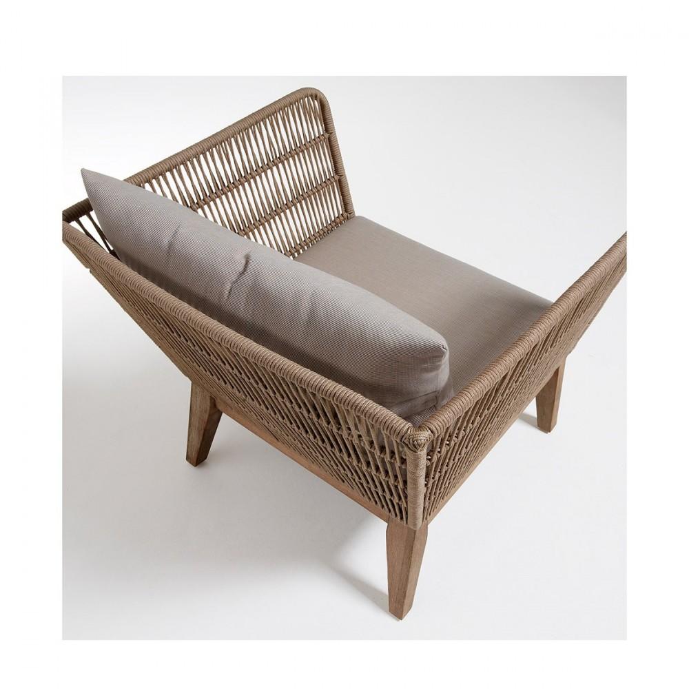 Capitonnage complet pour fauteuil dans 28 images fauteuil vintage de jardin bois et corde for Fauteuil salon de jardin en bois