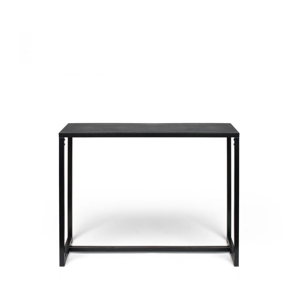 console design en m tal et b ton noir krawl by. Black Bedroom Furniture Sets. Home Design Ideas