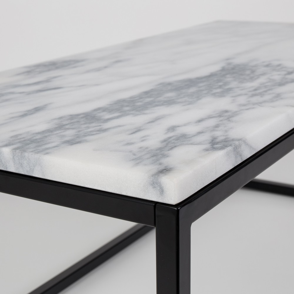 Table Basse Rectangulaire Zuiver Marble Power