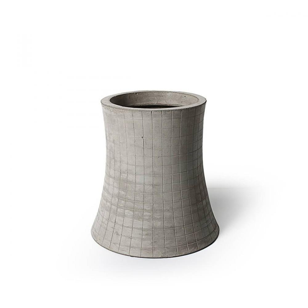 grand cache pot design en b ton nuclear plant m by. Black Bedroom Furniture Sets. Home Design Ideas
