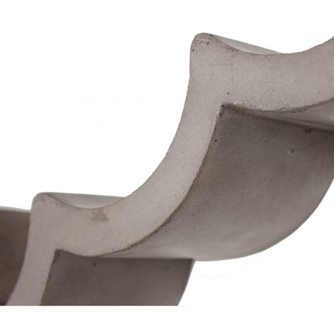 Etagère en béton rouleau papier WC Cloud M de Lyon Béton