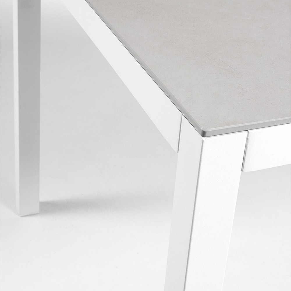 Table De Jardin Aluminium Et Verre Nessy Hydra By Drawer
