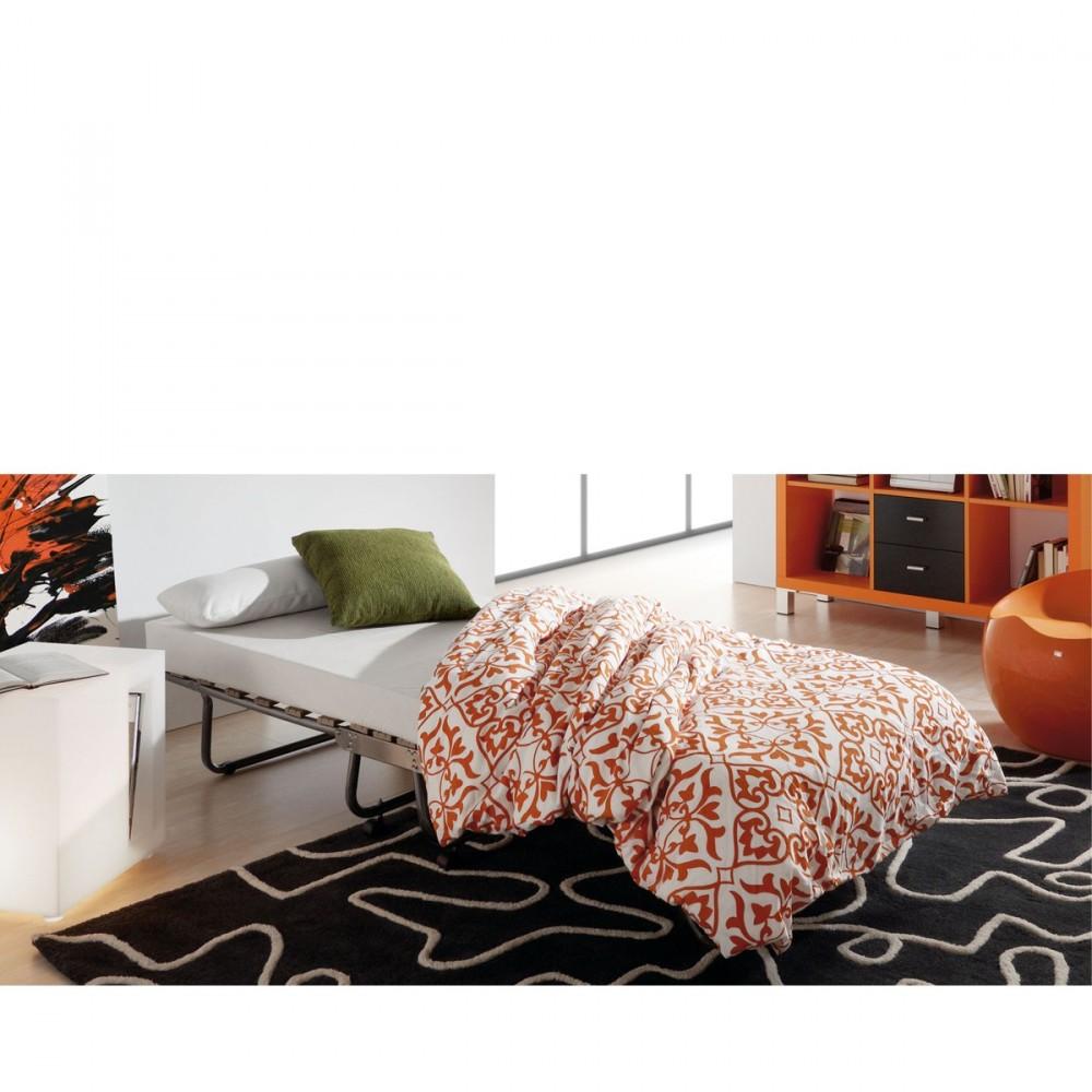 lit pliable avec matelas 80 x 190 jamaica par. Black Bedroom Furniture Sets. Home Design Ideas