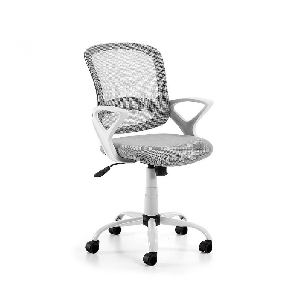 Chaise de bureau pivotante et roulettes tangier par - Chaise de bureau medicale ...
